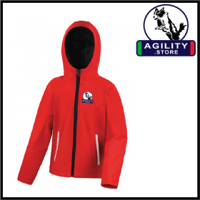 Agility Child Hooded Softshell Jacket (R224J)