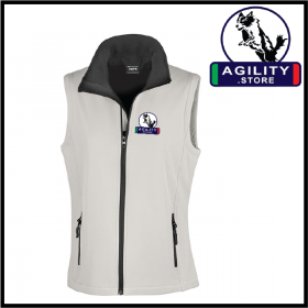 Agility Ladies Softshell Gilet 2ply (R232F)