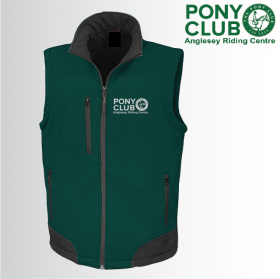 PC Unisex Softshell Gilet 3ply (R123A)