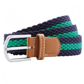 Braid 2 Colour Stretch Belt