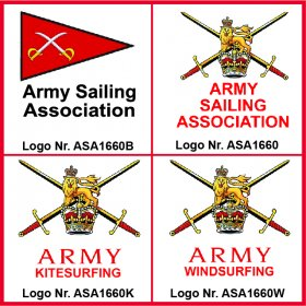Army Sailing Association Logos
