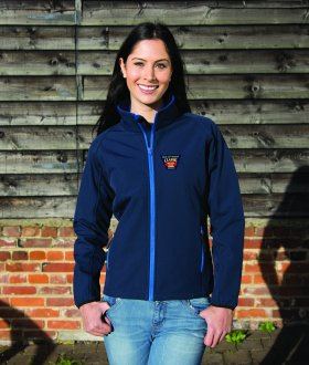 IW Beer & Buses Ladies Fitted Softshell Jacket