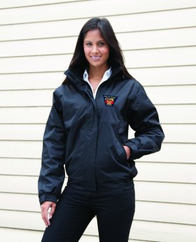 IW Beer & Buses Ladies Waterproof Jacket