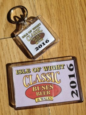 IWBB Fridge Magnet & Key Ring Set