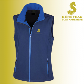 OW Ladies Softshell Gilet 2ply (R232F)