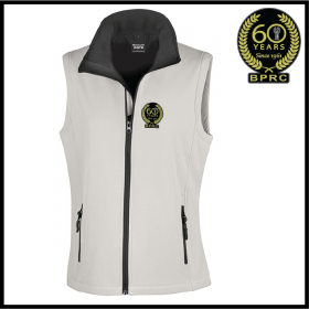 BPRC Ladies Softshell Gilet 2ply (R232F)