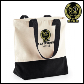 BPRC Canvas Two-Tone Tote Bag (BG683)