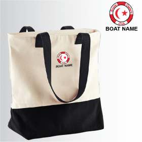 OW Canvas Two-Tone Tote Bag (BG683)