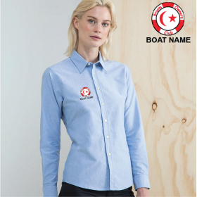 OW Ladies Delux Oxford Shirt, Long Sleeve (HB511)