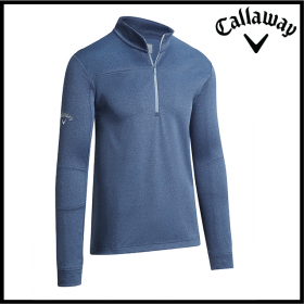 Callaway Pieced Waffle 1/4 Zip Pullover (CW072)