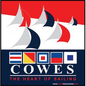 Cowes Code Flags - Canvas Print