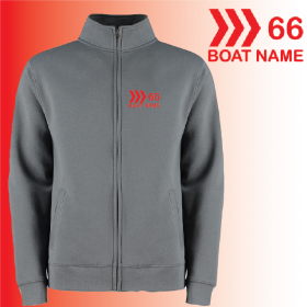 OW Full Zip Collared Sweat Shirt (KK334)
