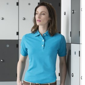 Henbury Classic Ladies Polo Shirt