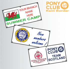 Pony Club Banners