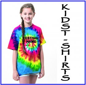 Festival Kids Rainbow T-Shirt