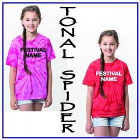 Festival Child Tonal Spider T-Shirt - TD01B