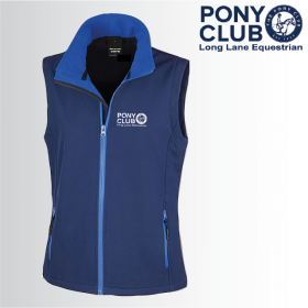 PC Ladies Softshell Gilet 2ply (R232F)