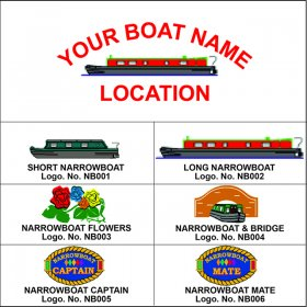 Narrowboat Personalised Clothing