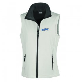 OD Ladies Softshell Gilet 2ply (R232F)