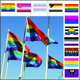 Pride Flags - Over 20 Designs