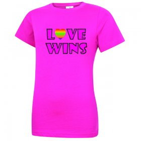 Pride Slogan Ladies T-Shirt