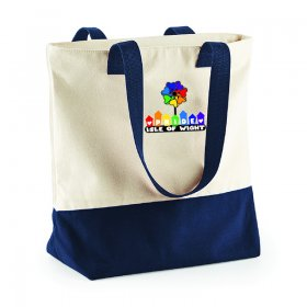 Pride Slogan Canvas Tote Bag