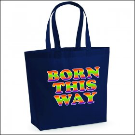 Pride Slogan Canvas Shopper Bag