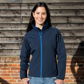 Ladies Softshell Jacket 2ply (R231F)