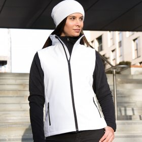 Ladies Softshell Gilet 2ply (R232F)