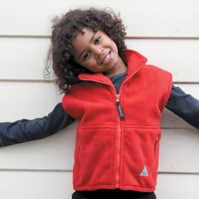 Child Result Fleece Bodywarmer