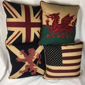 Country Cushions - Retro