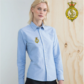 Ladies Delux Oxford Shirt, Long Sleeve (HB511)