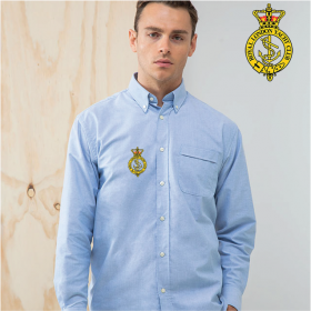 Mens Delux Oxford Shirt, Long Sleeve (HB510)