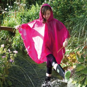 Midweight Child Poncho - SC019