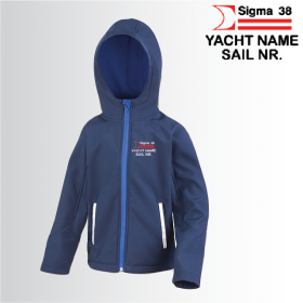 OW Child Hooded Softshell Jacket (R224J)