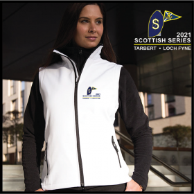 SS2021 Ladies Softshell Gilet 2ply (R232F)