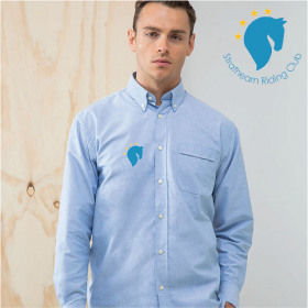 EQ Delux Oxford Shirt, Mens Long Sleeve (HB510)