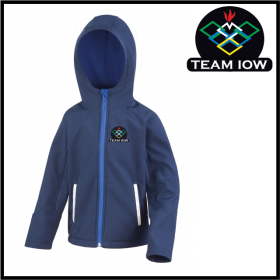 TeamIOW Child Hooded Softshell Jacket (R224J)