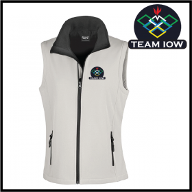 TeamIOW Ladies Softshell Gilet 2ply (R232F)