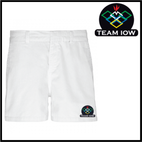 TeamIOW Ladies Chino Shorts (AQ061)