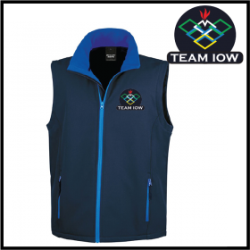 TeamIOW Mens Softshell Gilet 2ply (R232M)