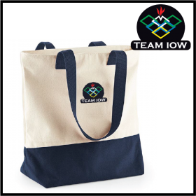 TeamIOW Two-Tone Tote Bag (BG683)