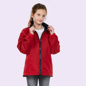 Kids Reversible Fleece Jacket - UC606