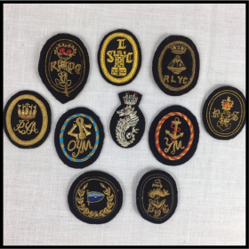 Hand-made Wire Cap Badges (WCB)