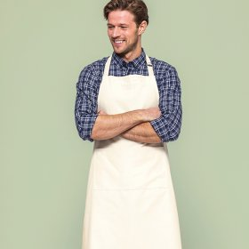Fairtrade cotton adult apron