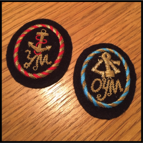 YM Hand-made Wire Cap Badges (YMWCB)