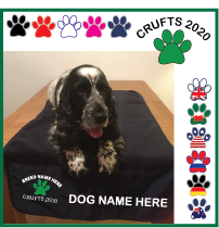 Crufts Bench Rug - FREE Magnet & Key Ring