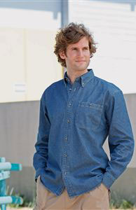 Denim Shirt Long Sleeve Heavyweight (FR10M)