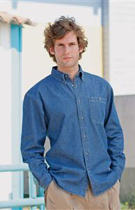 Denim Shirt Long Sleeve (FR13M)